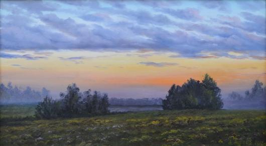 лето,философия, утро, пейзаж, живопись