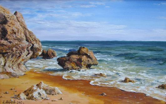 The sea, landscape