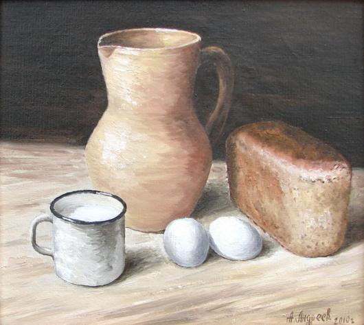 Still-life, bread