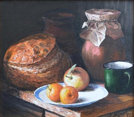 still life, painting,