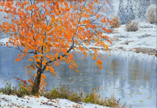 winter, landscape,First, Snow