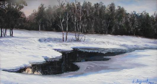 winter, warmer, landscape