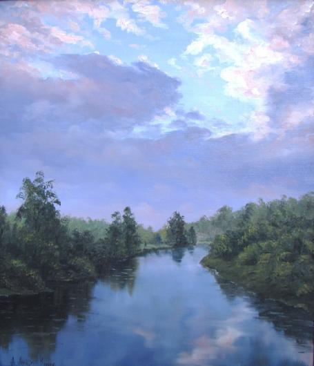 Тишина, реки