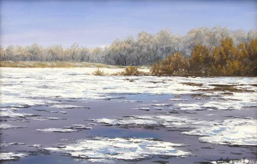 spring, river