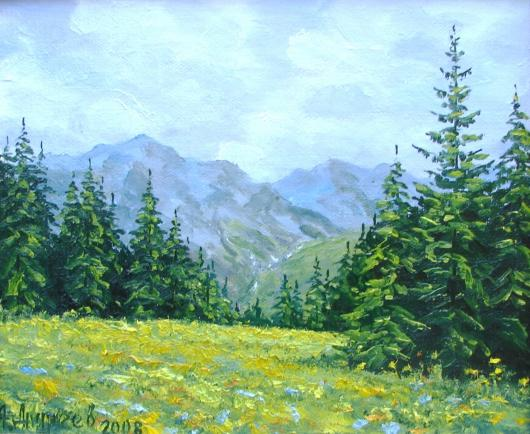 Spring , Carpathians