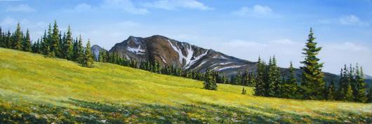 spring, Carpathians, landscape