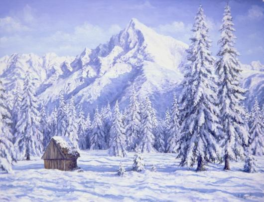 Winter, the Alpes